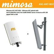 Mimosa A5c-ant-bd2 - Mimosa A5c Paired With Ant5158d20k-v2h2 4x4 20dbi Mimo