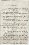 1876 Bunker Hill Ma Yacht Club Preamble Resolutions In Memoriam A Lawrence Death