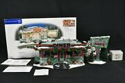 Department 56 Snow Village Shellyand039s Diner 55008 Tested And Working Complete