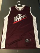 Vintage 90s Dr. Pepper Anoconda Jersey Xl Basketball Style