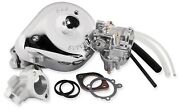 S And S Cycle 11-0411 Super E Shorty Carburetor Kit W/ Manifold