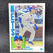 2019 Topps Jeff Mcneil Rc New York Mets 1984 Rookie 80