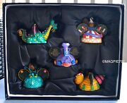 New Disney Electrical Parade Ear Hat Ornament Set Limited Edition