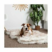 Luxury Faux Fur Orthopedic Dog Bed, Memory Foam Dog Bed For Small, Medium, ...