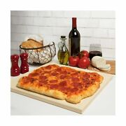 Cucinapro Pizza Stone For Oven Grill Bbq- Rectangular Pizza Baking Stone- X...