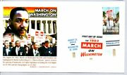 4804 March On Washington Stamp First Day Of Issue Martin Luther King Jr