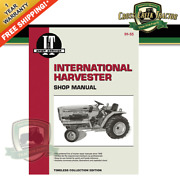 Itih55 New Shop Manual For Ih Tractors 234, 234 Hydro, 244, 254