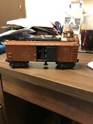 Lionel O Gauge X 3464 A.t.and S.f, Operating Box Car