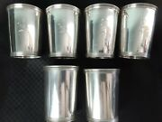 Vtg. Manchester And Trees 925 Sterling Silver Derby Mint Julep Cup Monogrammed Y