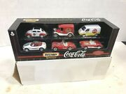 Matchbox Collectibles Set 6 Coca-cola Vehicles 38089 New In Box 143 Free Ship