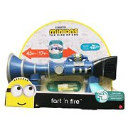 Minions The Rise Of Gru Fart 'n Fire Super-size Blaster 20+ Sounds For Kids 4+
