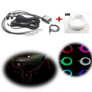 Universal Multi-color Interior Atmosphere Led Lighting Strips Bluetooth Control