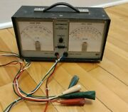 Vintage Micronta Radioshack Automatic Dwell Tachometer For Parts Or Repair