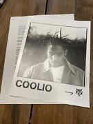 1990s Coolio Tommy Boy Records Hip Hop Music Press Kit W/photo My Soul