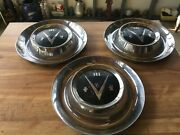 Vintage Hub Caps 3 1953 Buick V8 15 Wheel Covers Hubcaps Roadmaster Special