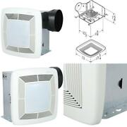 Qt Series Quiet 150 Cfm Ceiling Bathroom Exhaust Fan With Light And Night Light