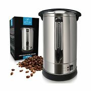 Zulay Premium Commercial Coffee Urn - Stainless Steel Large Coffee Dispenser ...