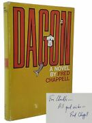 Fred Chappell / Dagon Signed And Inscribed 1st Edition 1st Printing 1968
