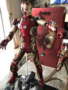 Hot Toys 14 Sideshow Iron Man Xllll Age Of Ultron Deluxe Large Scale