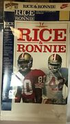 Rare Nike Poster Jerry Rice And Ronnie Lott - 49ers Rice And Ronni 3-d Poster