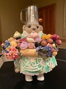 Apple Whimsey Collectible Bear. Andnbspchef Du Jour By Lita Gates. Andnbsp2001 Andnbsp18/100