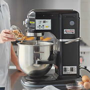 New 5-speed Black Electric 8 Qt. Countertop Commercial Mixer With 3 Attachments
