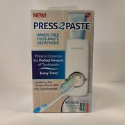As Seen On Tv Press 2 Paste Hands-free Toothpaste Dispenser