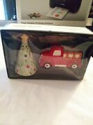 Threshold Red Truck And Christmas Tree Salt And Pepper Shaker Gift Set New F-ship