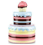 Nib Gorham Lenox Merry-go-round Pat-a-cake Multi 3 Tier Stacking Canisters