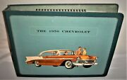 1956 Chevrolet Dealership Car Model Option Book - Excellent Condition, Very Cool