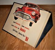 1951 Buick Dealership Car Model Option Book With Pop Ups And Motion Displays--cool