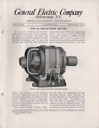 1914 General Electric Power And Mining Dept Single-phase Motors Bulletin 41507