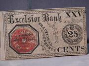Athens High School Georgia 25 Cents Excelsior Bank