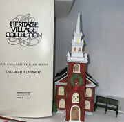 Dept 56 The Heritage Village Collection Old North Church 1988 54932-3 Retired