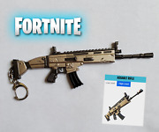 Not In Stock Right Nowfortnite Battle Royale Scar Assault Rifle Keychain 6.5