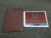 1966 Porsche 911 Original Factory Owner's Owners Driver's Manual Book W/ Case