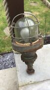 7 Industrial Cage Lights Rustic Vintage Steampunk Barn Conversion Upcycle