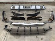 1964 Thunderbird Front Bumpers Grille And Suport Brackets