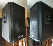 In Montreal Sgh Pa Speakers 2 For Stage Studio Or Bar 150 Watts 4 Ohms