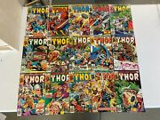 Marvel Comics The Mighty Thor 284 285 286 287-396 337 Vf Annual 8-14 Fn Bagged