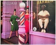 William Klein Rare 1980 Lithograph Print French Poster Coiffeur New York 1963