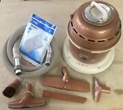 Vintage Lewyt Swivelbase 50and039s Canister Vacuum Cleaner And Attachments - Mcm Cool