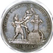 1762 Betts-442 Pcgs Sp 64 Fair Peace Of Europe Silver Medal