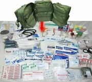 Elite First Aid M17 Stocked Corpsman Medic Bag Trauma Kit Military Quick Access