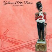 Soldier Porcelain Capodimonte Official Grenadier By Merli.serie Napoleonic