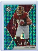 2020 Mosaic Choice Football Peacock Rookie 202 Chase Young