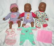 Cititoy Circo African American Baby Dolls Lot Of 3 2000s 12 Clothes Htf Toys