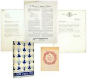 Francis P Church / Small Archive Related To Yes Virginia There Is A Santa Claus