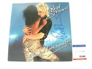 Rod Stewart Autographed Signed Blondes Have More Fun Vinyl Psa/dna Ae12960