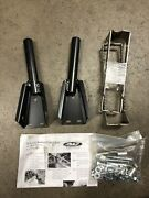 Ac Racing Mx Pro Pegs Nerf Bar Mounts Foot Rests Bombardier Ds650 2000-2004